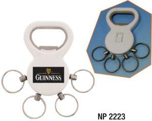 NP2223: Quad Key Ring / Bottle Opener