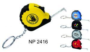 NP2416: Mini Tape Measure Key Ring
