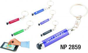 NP2859: Mini Stylus Key Ring