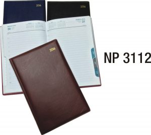 NP3112: One Day Diary with Monthly Index
