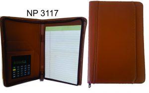 NP3117: Tan Junior Executive Portfolio