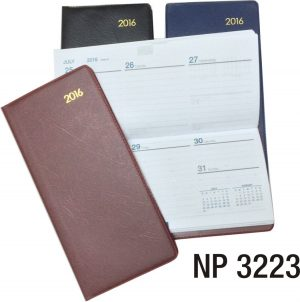 NP3223: Soft Cover Weekly Planner