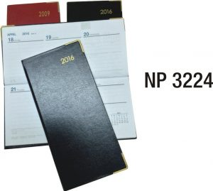 NP3224: Hard Cover Weekly Planner