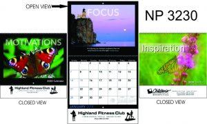 NP3230: Spiral Wall Calendar