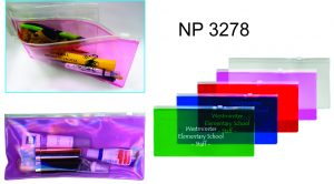 NP3278: Translucent Pencil Pouch
