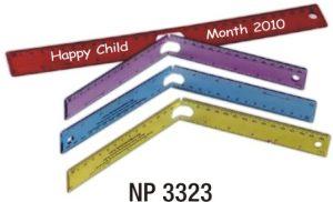 NP3323: 12in / 30cm Folding Ruler