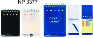 NP3377: Spiral Jotter with Sticky Notes