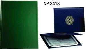 NP3418: Deluxe Certificate Holder