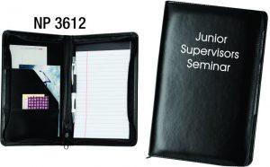 NP3612: Junior Zippered Portfolio