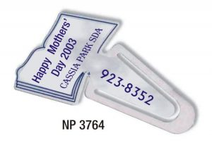 NP3764: Book-Shaped Bookmark