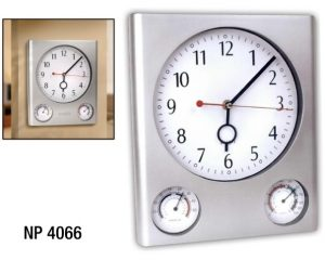 NP4066: Three-in-one Wall Clock