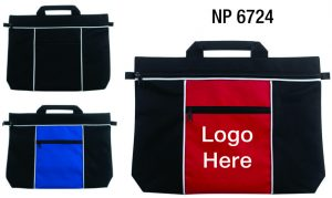 NP6724: Two Tone Document Bag