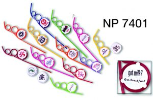 NP7401: Logo Straw