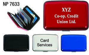 NP7633: Aluminum Card Case