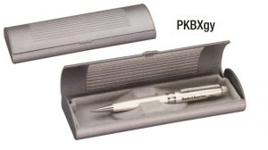 PKBXgy: Grey Pen Box (unprinted)