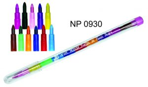 NP0930: Stackable Coloured Pencil