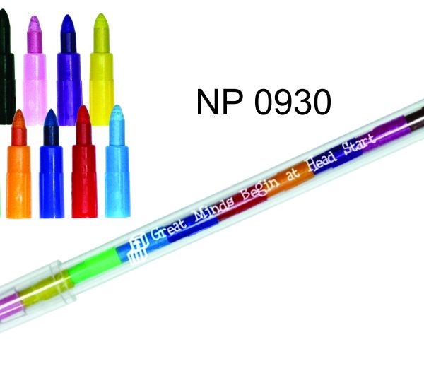 NP0930: Stackable Coloured Pencil