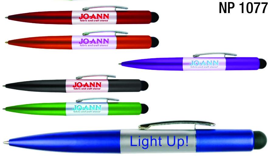 NP1077: Jumbo Light Up Pen