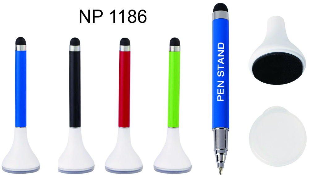 NP1186: Stylus Pen with Stand & Cleaner