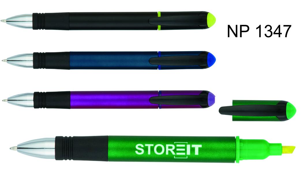 NP1347: Cap-Off Pen Highlighter