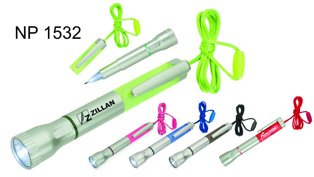NP1532: Pen with Flashlight