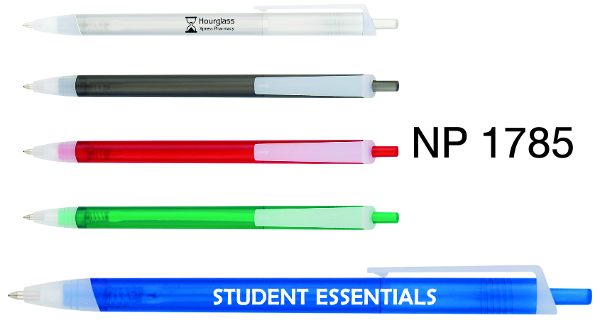 NP1785: The New Transparent Clip Pen