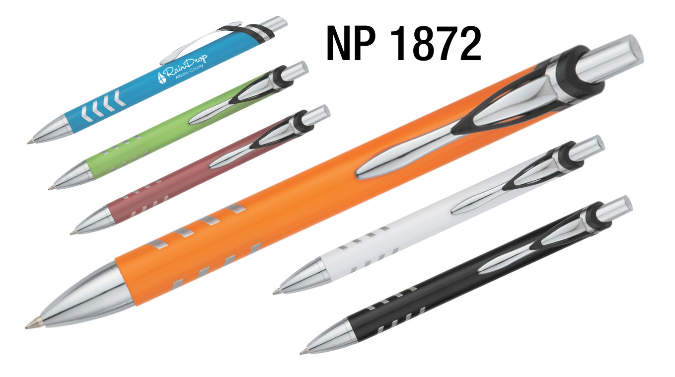 NP1872: The V-Stripe Grip Pen