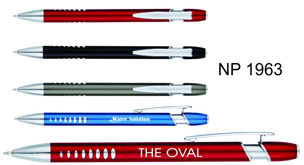 NP1963: Oval Grip Pen