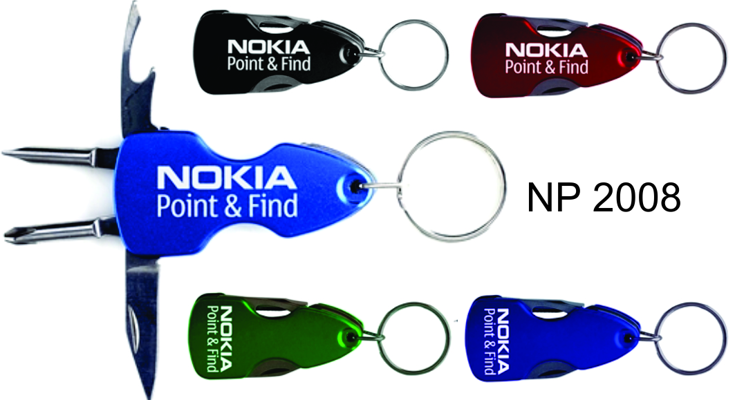 NP2008: Knife & Tool Key Ring