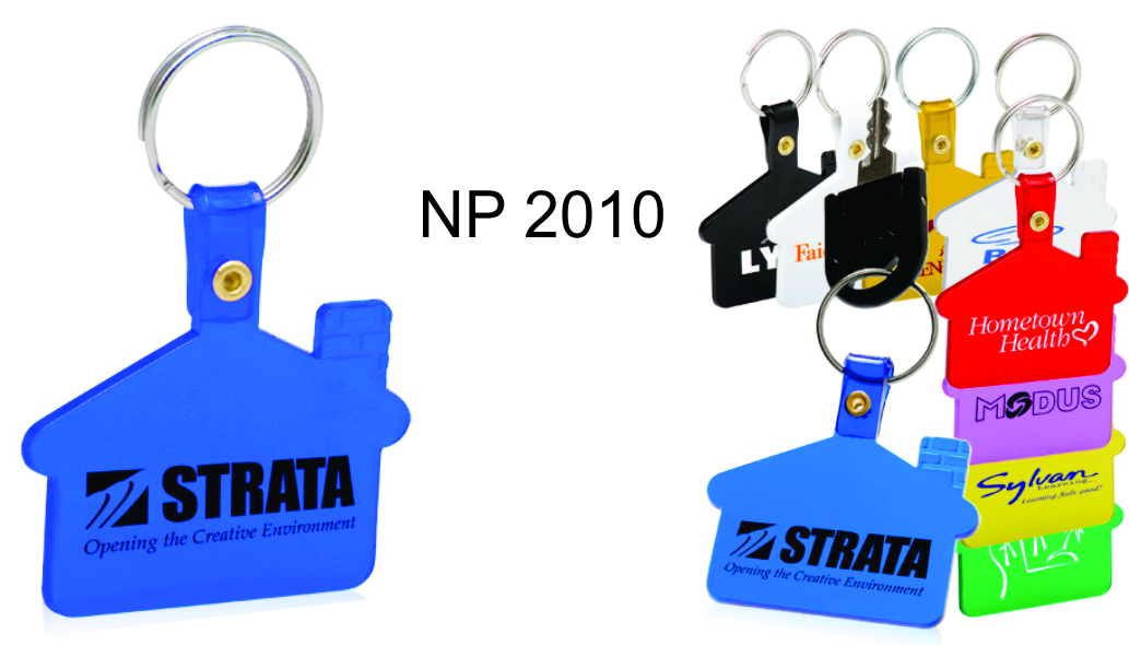 NP2010: House Shaped Key Ring