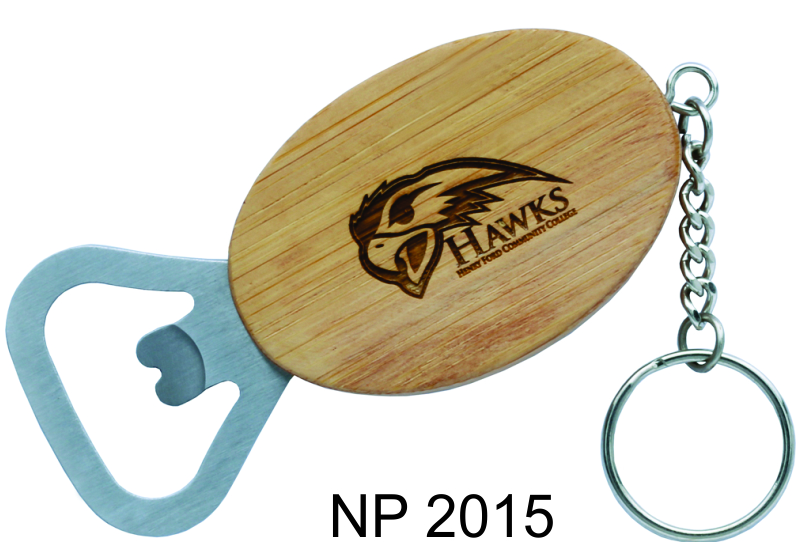NP2015: Bamboo Opener Key Ring