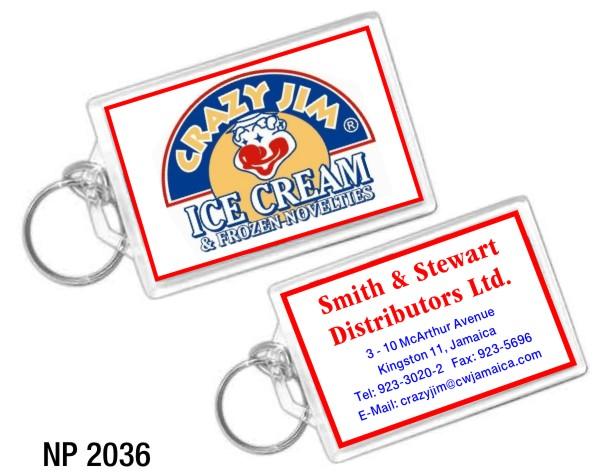 NP2036: Jumbo Acrylic Key Ring