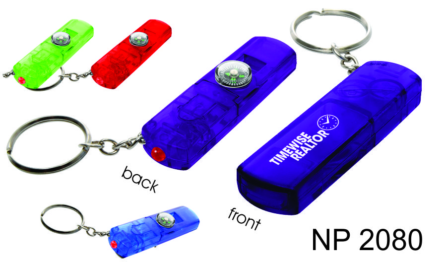 NP2080: Whistle Combo Key Ring