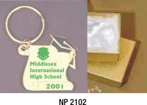 NP2102: Graduation Key Ring