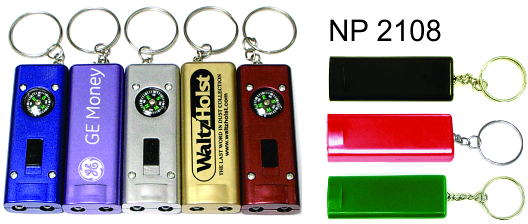 NP2108: Compass Light Key Ring