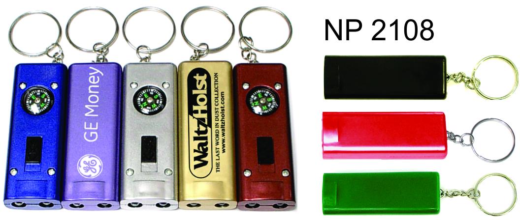 NP2108: Compass Light Key Ring