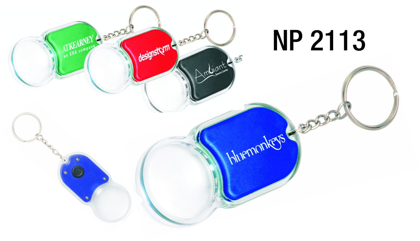NP2113: Magnifier Light Key Ring
