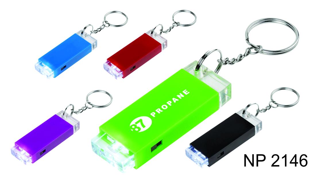 NP2146: LED Block Key Ring