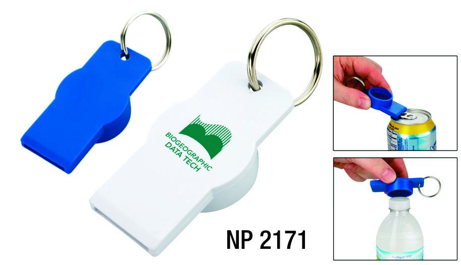 NP2171: Bottle & Can Opener Key Ring