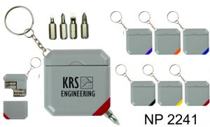 NP2241: Screwdriver Set Key Ring