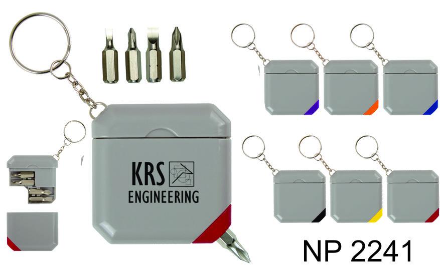 NP2241: Screwdriver Set Key Ring