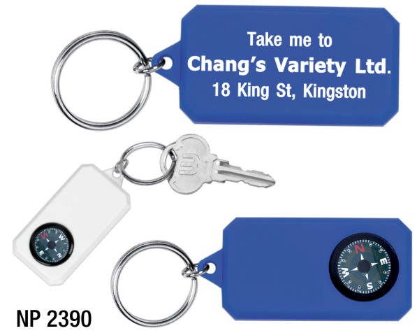 NP2390: Compass Key Ring