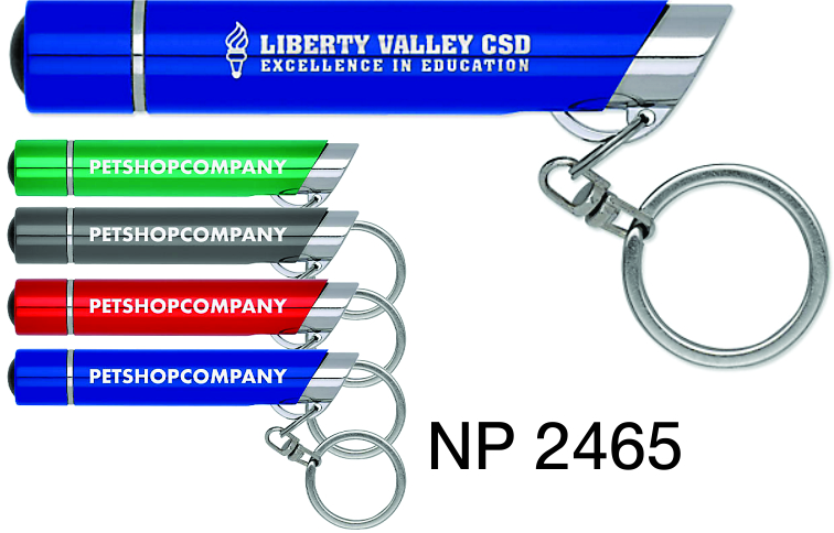 NP2465: Optic LED Light Key Ring