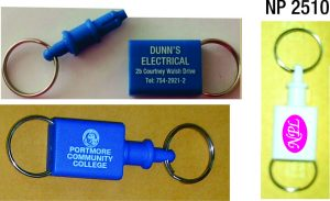 NP2510: Pull Apart Key Ring (unprinted)