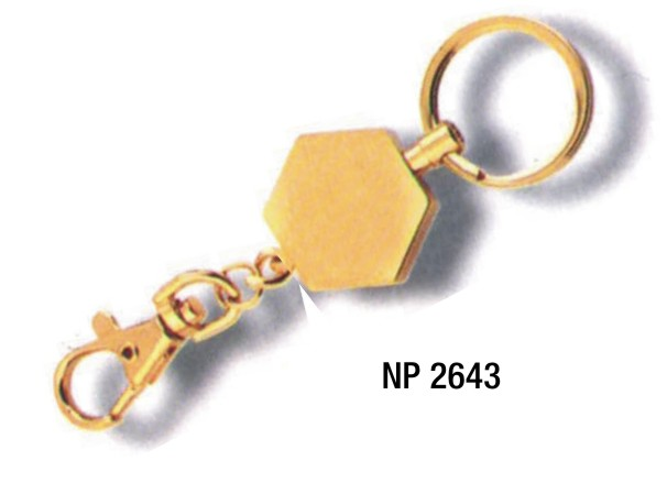 NP2643: Brass Key Ring