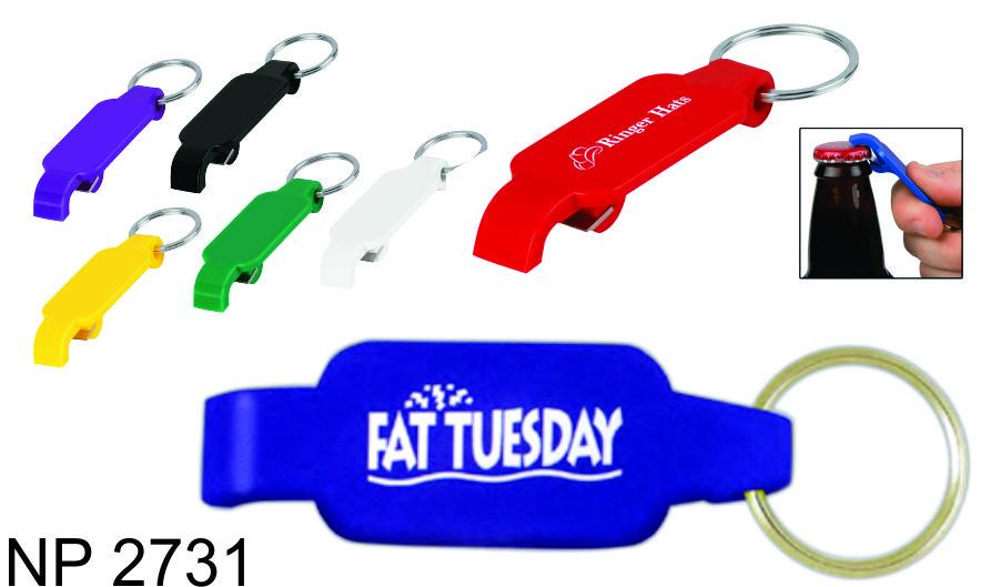 NP2731: Bottle Opener Key Ring