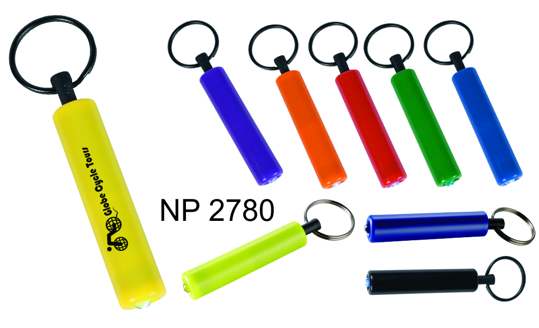 NP2780: Cylinder LED Light Key Ring