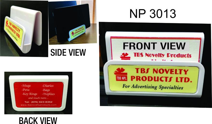 NP3013: Full Colour Card & Media Holder