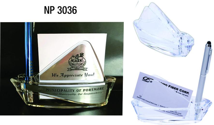 NP3036: Acrylic Stationery Holder