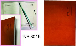 NP3049: Appointment Diary  (leather, 1 day per page)